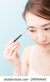 young attractive asian woman beauty image