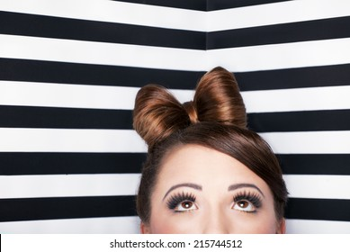 Black Hair Bun Styles Images Stock Photos Vectors Shutterstock