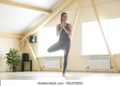 vrikshasana images stock photos  vectors  shutterstock
