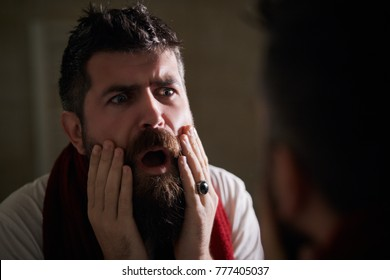 bearded man images stock photos vectors shutterstock