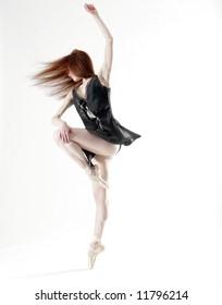 Young Beautiful Ballerina - Shutterstock ID 11796214