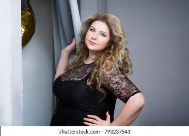 Black Plus Size Women Images Stock Photos Vectors Shutterstock