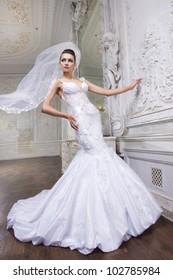 Young beautiful bride