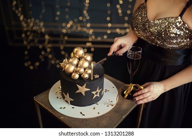Tremendous Black Girl Blowing Out Birthday Cake Candle Stock Photos Images Funny Birthday Cards Online Fluifree Goldxyz