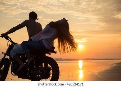 1000 Couple Motorcycle Riding Young Stock Images Photos