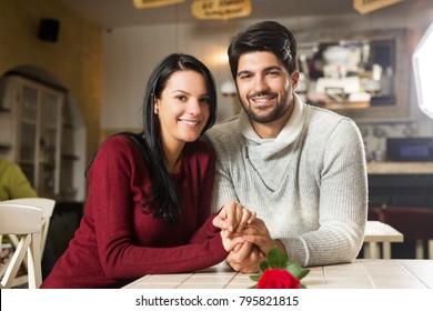 Young beautiful couple photo