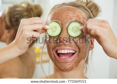 Bathroom mature cucumber fun