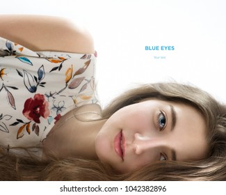 Young beautiful girl. Portrait