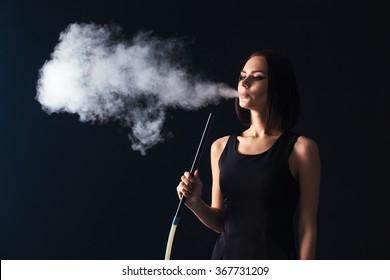 Girl Smoking Hookah Images, Stock Photos \u0026 Vectors