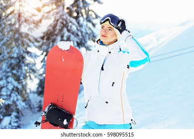 06a6f6c00fa Young Beautiful Girl White Jacket Blue Stock Photo (Edit Now ...