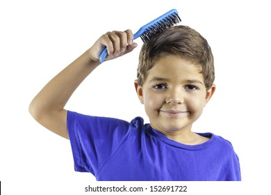 Combs His Hair Images Stock Photos Vectors Shutterstock