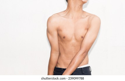 toned asian male chest stock photo edit now 304402076 shutterstock