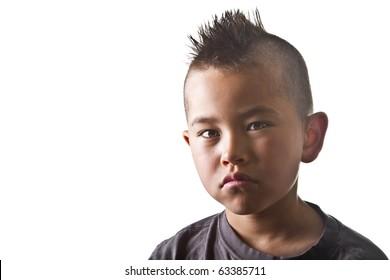 Kids Mohawk Images Stock Photos Vectors Shutterstock