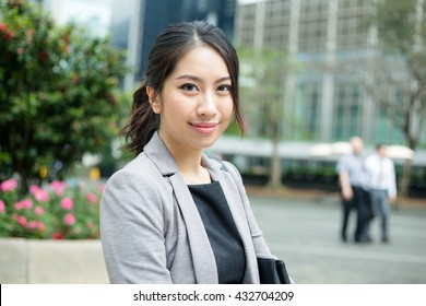 Young busines woman