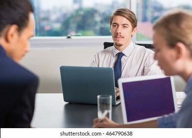 Young Business Leader in Office