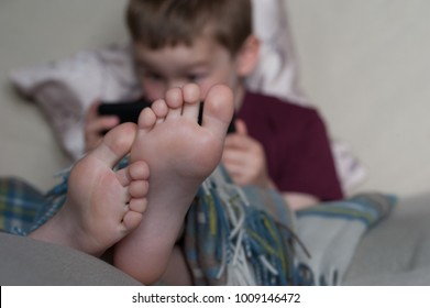 boy feet
