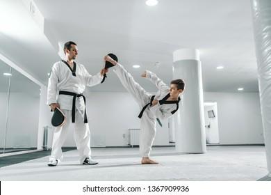 Imágenes, fotos de stock y vectores sobre Martial Arts Side