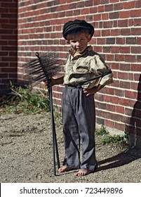 Young Chimney Sweep