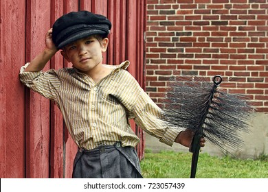 Young Chimney Sweeper in color