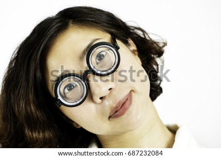 Funny chinese glasses