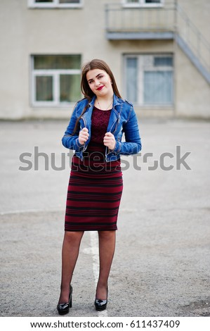 Chubby School Dress