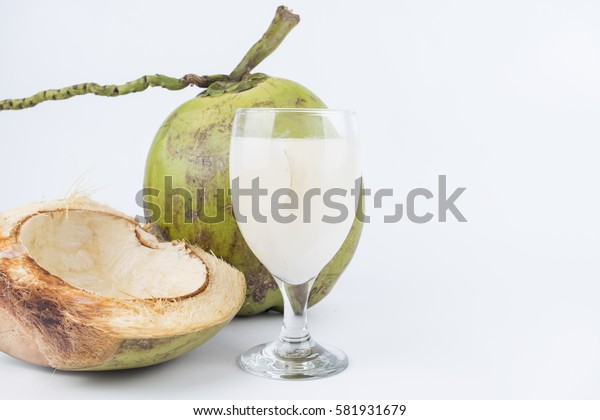 Young coconut. Good for the health drink. Coconut Is A Well-Known Source Of Carbohydrates, Vitamin E, Iron, Calcium, Phosphorus And High Dietary Soluble Fibre ,Appreciable Amounts Of Protein And Fat