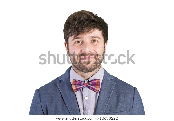 young cool man happy expression