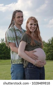 Young Couple awaiting a Baby -?? Germany, Europe