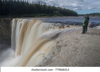 A young couple explores Alexandra and Twin Falls in Canada's Northwest Territories.