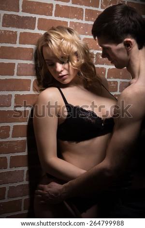 Girl on girl foreplay