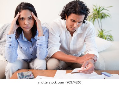 Young couple just found out they are broke