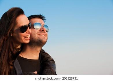 young couple in love/young couple in love