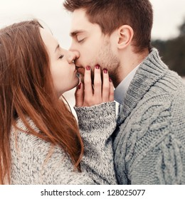 Kissing Couple Images Stock Photos Vectors Shutterstock