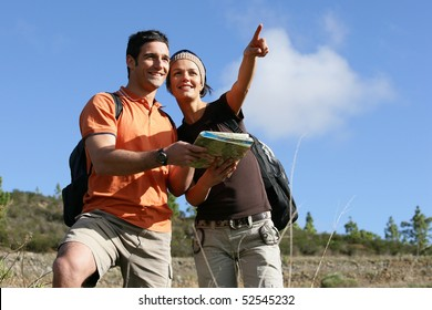 Young couple with a plan