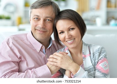 young couple is spending time