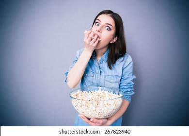 Popcorn, Binge, Movie, Eat, Overeat