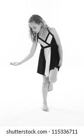Young Dancer Posing