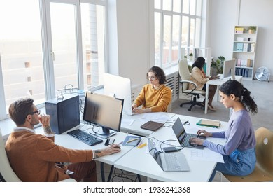Young IT Development Team in Office