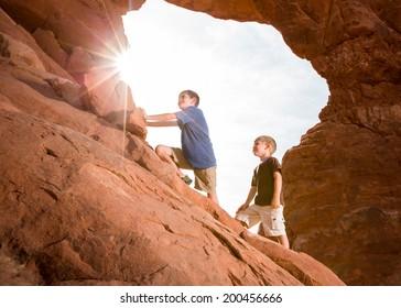 Young Explorers (Horizontal)