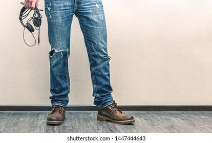 44ba4703ff9 Man in Boots Images, Stock Photos & Vectors | Shutterstock
