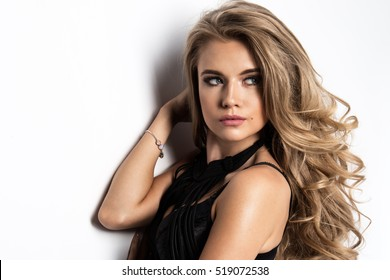Young fashionable beauty woman