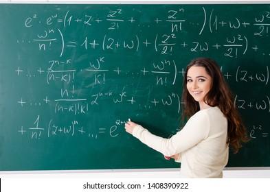 Math Teacher Images Stock Photos Vectors Shutterstock