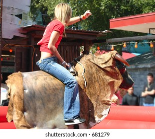 Mechanical Bull Images, Stock Photos & Vectors | Shutterstock