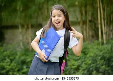Filipina student