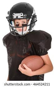 Young Football Boy