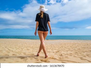 On the beach nude Teenage Nudity