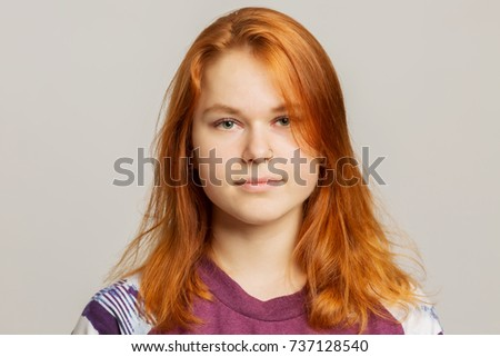 Accept. The Young girl with red hair opinion you
