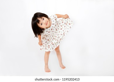 A young girl who expresses herself in one piece. Dancing, Toddler, Representation, Love, Happiness, Image