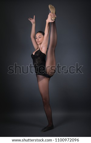 Sexy flexible girl join. happens