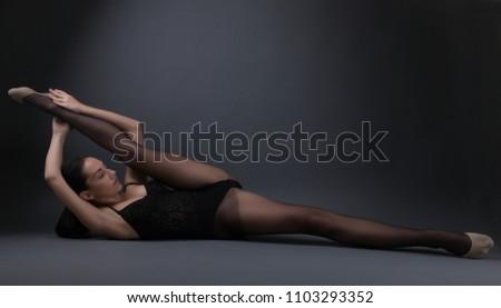 Seems sexy flexible girl that
